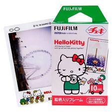 Classic Hello Kitty Fujifilm Instax Mini Film 10pcs Fr Mini 9 8 7s 70 90 25 SP-2