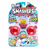 Zuru Smashers Collectible Series 1 Sports Themed 3-Pack toy-NEW