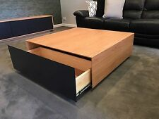 JANNA COFFEE TABLE  - AMERICAN OAK HARDWOOD - AUSTRALIAN HARDWOOD