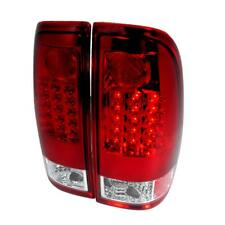 97-03 Ford F150 99-07 F250 F350 Super Duty Truck LED Tail lights Red OE Upgrade
