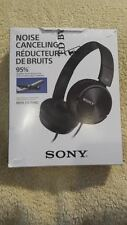 Sony MDR-ZX110NC ZX110NC Noise Cancelling Headphones Black - Everything Included