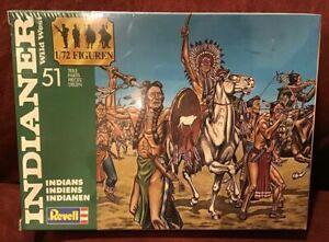1990  New MIB Vintage Revell Indianer Wild West