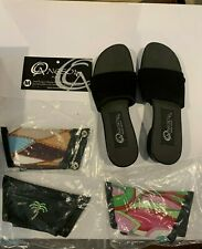 Onesole Women's Leisure Softstep Size 8 Black New w/box and extras
