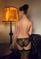 Culotte femme slip italien lingerie transparent sexy ROZA LICA taille S M L XL