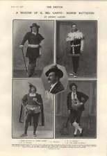 1906 Il Bel Canto Signor Battistini
