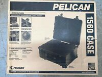 Pelican 1560-000-110 Case, Watertight, Crush Proof, Dust Proof, New in Box