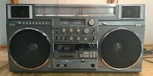 JVC RC-M90W Vintage Stereo Boombox Ghetto Blaster King Of Boomboxes