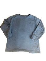 Boys Longsleeve Ralph Lauren Polo Shirt SIZE 4/4T Blue