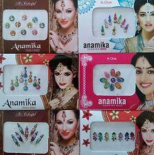 BINDI STICKERS x 6 Packets Premium Quality Body Art Indian Tattoo Bollywood Boho