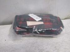 Lug Trolley Cosmetic Case - Buffalo Check Red