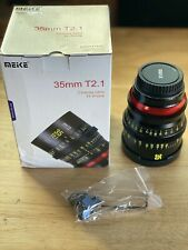 Open box Meike 35mm T2.1 FF Cinema Lens - EF Mount - Ships Fast From USA!