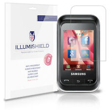 iLLumiShield Phone Screen Protector w Anti-Bubble/Print 3x for Samsung Champ