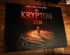 SYFY NETWORK KRYPTON DC COMICS SUPERMAN 5FT SUBWAY POSTER 2018