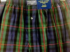 Polo Ralph Lauren Classic Fit Boxers Underwear Plaid 100% Cotton Sz XL