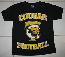 "COUGAR FOOTBALL - BOY'S SMALL T-SHIRT PRINT ON BOTH SIDES "" IT'S A WE THING!!! """