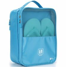 Stylish Convenient Travel Shoe Bag Sky Blue Protects Clothes From Dirt & Smell