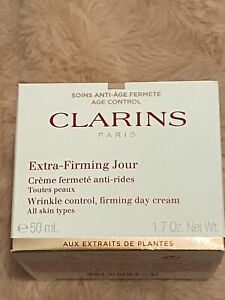 Clarins Extra Firming Jour Day Cream SPF 15 All Skin Types 1.7 oz NIB
