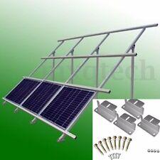 4PCS Solar Panel Mounting Z-Brackets Set Fixing Kit Fit Caravan Roof Stainless