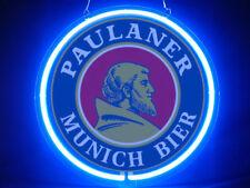 Paulaner Munich Beer Hub Bar Display Advertising Neon Sign