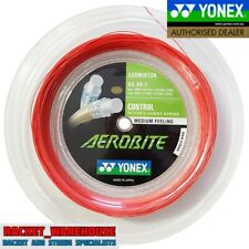YONEX AEROBITE 200M COIL BADMINTON RACKET STRING RED / WHITE MADE IN JAPAN
