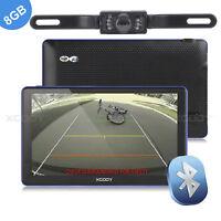 "7"" Car GPS Navigation Navigator with Bluetooth Handsfree & Wireless Reverse Cam"