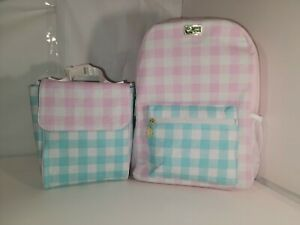Luv Betsey  Johnson Backpack Trendy travel,overnight Multi color 2 piece set NWT