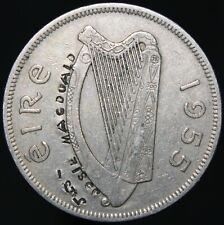More details for 1955 | ireland half-crown 'stamped, josie macdoald' | cupro-nickel | km coins