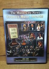 THE MUSIC CITY NEWS~COUNTRY MUSIC AWARDS VOL. 2~1984-1989~ 6 DVDS~~7-12