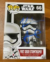 Kevin Smith Signed Star Wars First Order Stormtrooper 66 Funko Pop - JSA NN27965