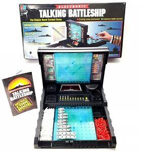Vtg Electronic Talking Battleship 1989 Milton Bradley 100% Completely Counted!