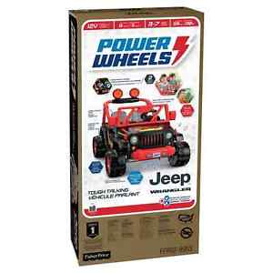 Power Wheels 12V Tough Talking Jeep Powered Ride-On - Black/Red