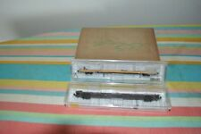 2 -used micro trains Trailer Train 89ft 4in flat cars