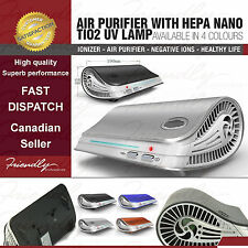 Air Purifier HEPA Nano TiO2 Filter UV Light Mold Control Allergy Asthma Relief
