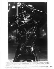 BATMAN RETURNS movie photo print - CATWOMAN, MICHELLE PFEIFFER - 8 x 10 inches
