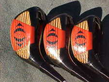 Walter Hagen Lady Golf Clubs set Refinished Womens Woods Driver 3 4 w New Grips
