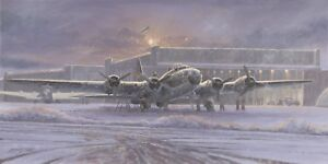 Limited Aviation Print The Memphis Belle by Philip West (B-17)