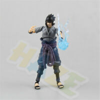 Anime Naruto Uchiha Sasuke PVC Figure Model Toy 14cm New in Box