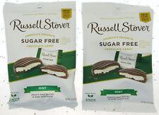 Russell Stover sans Sucre Menthe Chocolat Patties Bonbon 89ml Sac ~ Lot de 2