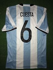 Argentina Cuesta Olympic Games 2016 Authentic Match Worn Shirt