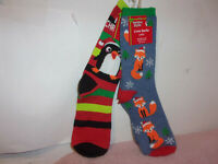 Choice THREE Mix /& Match 3 PAIRS of Tuff Stuff women trouser socks for $8.97