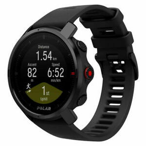 Polar Grit X GPS & Running Watch with Heart Rate Monitor - Black (90081735)