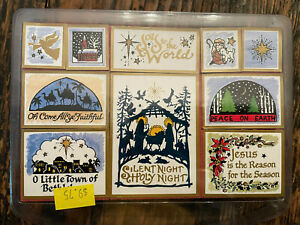 Personal Stamp Exchange PSX Christmas Religious Foam Stamp Set