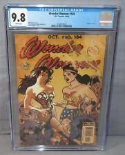WONDER WOMAN #184 (Adam Hughes vintage cover) CGC 9.8 NM/MT DC Comics 2002