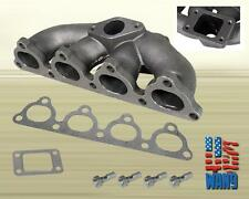92-00 Honda Civic Sohc D-series T3/T4 Cast Turbo Manifold Header Keep AC/PW