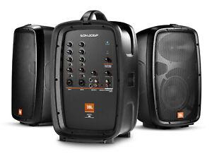 JBL sono portable EON 206P 2 enceintes actives + console de mixage - NEW !