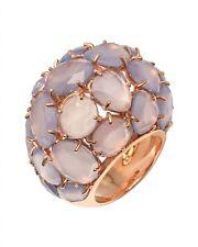 "POMELLATO ""Capri"" 18K Pink Gold Chalcedony Ring A.B006-07-CL-52 Sz 6 MSRP $10900"