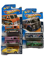 Lot of 5 Hot Wheels HW City Works '12 - NEW. Combat Medic. Bus. Taxi