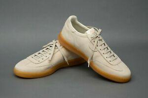 NWOB Brunello Cucinelli Men 100% Leather Suede LogoDetail Sneaker 42/8.5US  A211