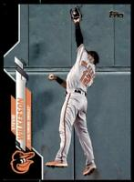 2020 Update Base Black #U-120 Stevie Wilkerson /69 - Baltimore Orioles
