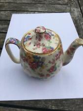Royal Winton Chintz c1940's COTSWOLD Pattern Small Teapot